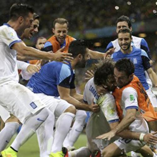 ΘΡΙΑΜΒΟΣ: Η Ελλάδα στους «16» του Παγκοσμίου Κυπέλλου