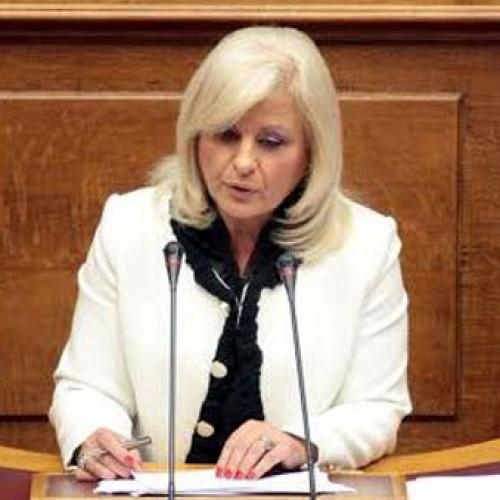 Η Γεωργία Μπατσαρά συγχαίρει τη VENUS