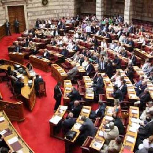 Στη Διάσκεψη των προέδρων της Βουλής οι προτάσεις για το δημοψήφισμα