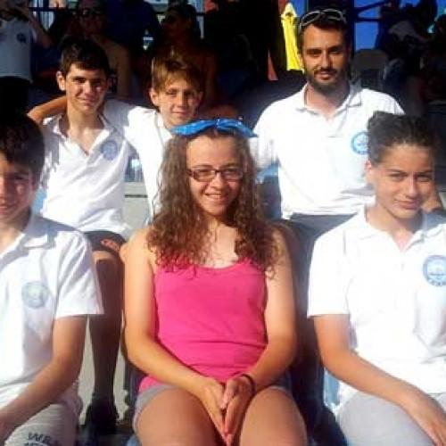 Πανέτοιμη για το πανελλήνιο Πρωτάθλημα,  η αγωνιστική ομάδα κολύμβησης του Ν.Α.Σ.Ημαθίας