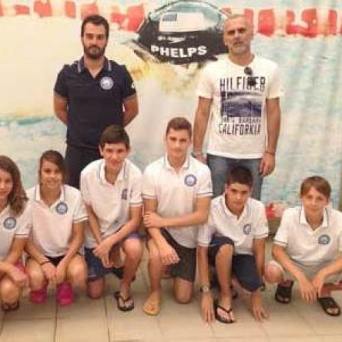 Αναχωρεί για το πανελλήνιο πρωτάθλημα η αγωνιστική ομάδα κολύμβησης του Ν.Α.Σ.Ημαθίας.