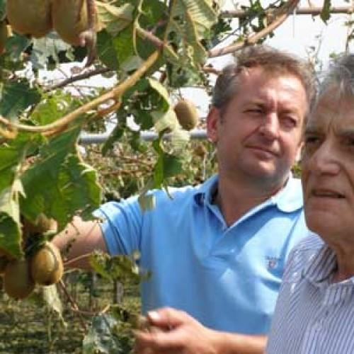 Ο Κ. Πουλάκης, με κλιμάκιο του ΣΥΡΙΖΑ, επισκέφθηκε τις πληγείσες από το χαλάζι περιοχές της Νάουσας