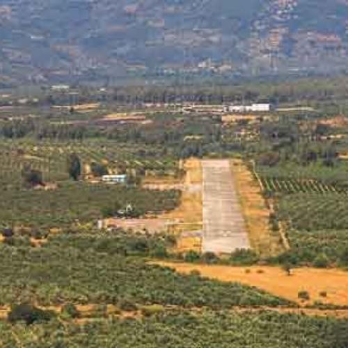 Δύο νεκροί από πτώση μικρού ιδιωτικού αεροπλάνου στη Λακωνία
