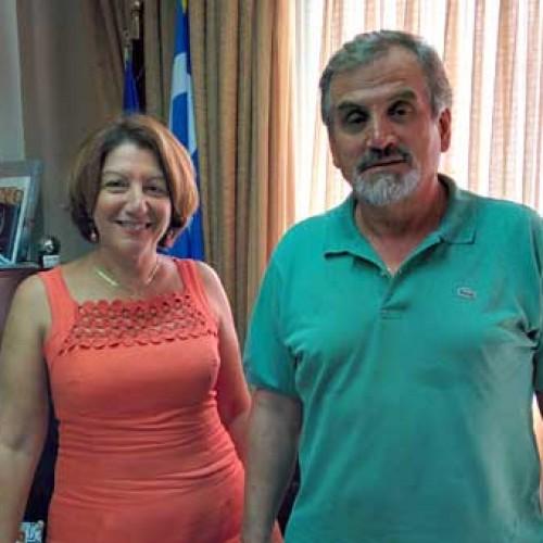 Συνάντηση Γ.Σοφιανίδη - Αν.Μαυρίδου
