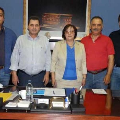 Eυχετήριες επισκέψεις Συλλόγων στον Κ. Καλαϊτζίδη