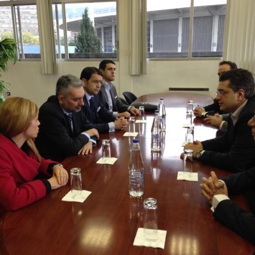 Συνάντηση Τζιτζικώστα με Σέρβους Αξιωματούχους