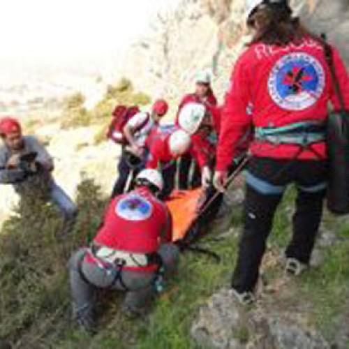 Συνδρομή της Ελληνικής Ομάδας Διάσωσης σε ατύχημα στην περιοχή Καστάνα Ολύμπου