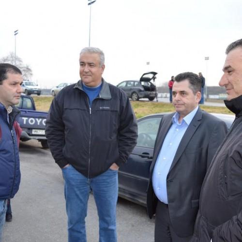 Στο πλευρό των αγροτών της Ημαθίας ο Κώστας Καλαϊτζίδης