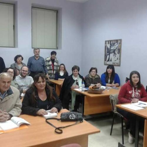Στο Κέντρο δια βίου μάθησης του Δήμου Βέροιας, ο Γ. Σοφιανιδης
