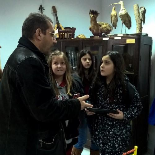 Επίσκεψη μαθητών του 1ου Δημοτικού Σχολείου Γιαννιτσών στο Μουσείο Εκπαίδευσης