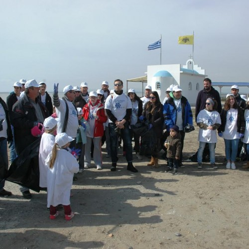 Καθαρίστηκαν την Κυριακή 22 Μαρτίου  από εθελοντές του Δήμου Αλεξάνδρειας οι εκβολές του ποταμού Λουδία