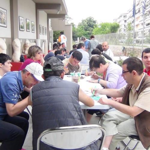 Οι εκπαιδευόμενοι του Κέντρου ''Τα Παιδιά της Άνοιξης'' και οι μαθητές του Ε.Ε.Ε.Ε.Κ. Αλεξάνδρειας στο Αρχαιολογικό Μουσείο Βεροίας
