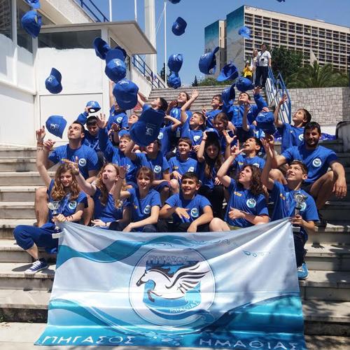 Με απόλυτη επιτυχία η συμμετοχή του Πήγασου Ημαθίας στην σημαντικότερη διοργάνωση κολυμβητικών αγώνων στα Βαλκάνια