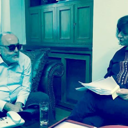 Συνάντηση Φ. Καρασαρλίδου με Κουρουμπλή για τα προβλήματα της δημόσιας υγείας στο νομό μας