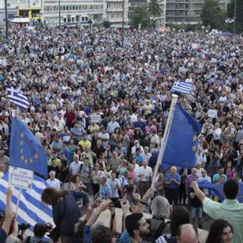 «Μένουμε Ευρώπη» ξανά στο Σύνταγμα τη Δευτέρα
