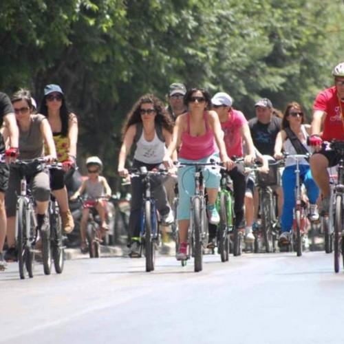 Ποδηλατοπορεία με αφορμή την παγκόσμια ημέρα Περιβάλλοντος, στη Νάουσα