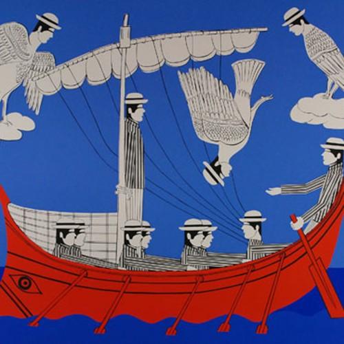 """Ο ανατρεπτικός Γιάννης Γαΐτης και τα αρχαιοελληνικά σύμβολα - """"Οδυσσέας και Σειρήνες"""""""