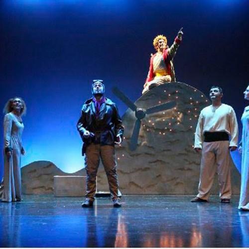 """Οι μαγικές σβούρες και """"Ο Μικρός Πρίγκιπας"""" του Αντουάν ντε Σαιντ- Εξυπερύ, σε σκηνοθεσία Δημήτρη Αδάμη. Σήμερα στη Βέροια"""