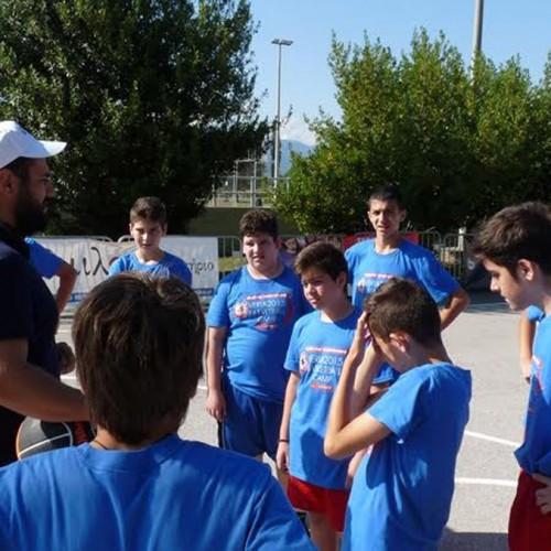 Παιχνίδια 3χ3 στην 4η ημέρα του Veria Basketball Camp 2015