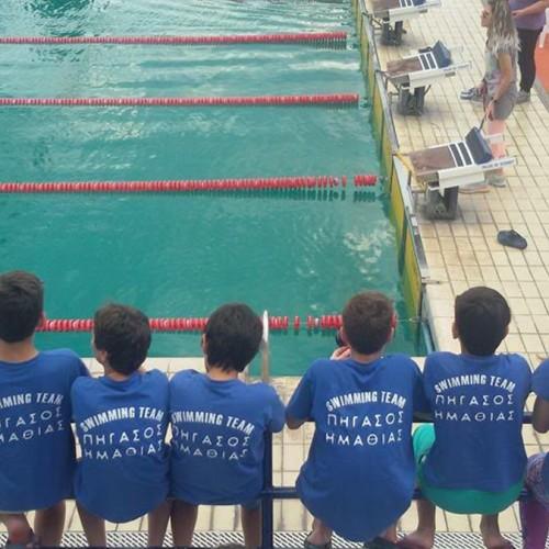 """Πήγασος Ημαθίας: Νικητής """"η κολύμβηση"""" στους θερινούς αγώνες προαγωνιστικών κατηγοριών"""