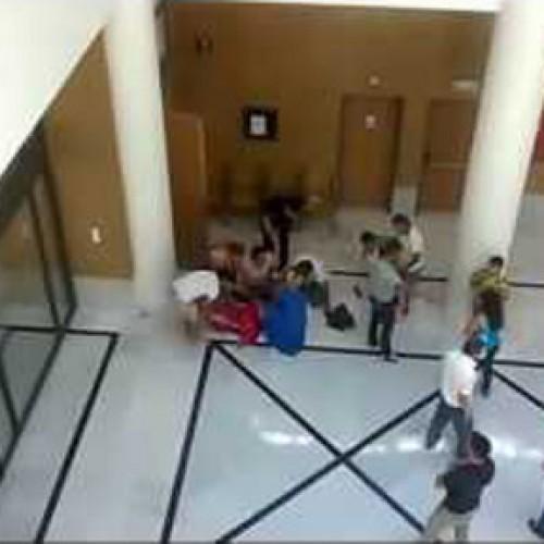 Λιποθυμικό επεισόδιο  στο Δικαστικό Μέγαρο Βέροιας (VIDEO)
