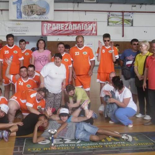 """""""Παιδιά της Άνοιξης"""" & ΕΕΕΕΚ Αλεξάνδρειας στο Τουρνουά Μπάσκετ ΑμεΑ των δομών B/βάθμιας Εκπαίδευσης Ημαθίας"""