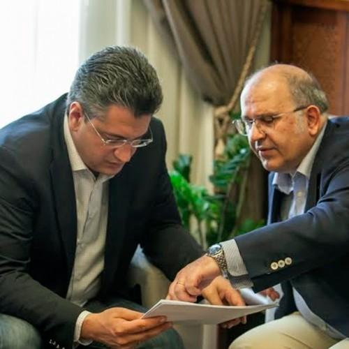 Συνάντηση Τζιτζικώστα με τον Αναπληρωτή Υπουργό Πολιτισμού Νίκο Ξυδάκη