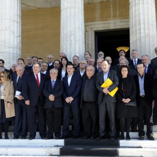 Η κυβέρνηση καλεί τους πολίτες να καταψηφίσουν τη λιτότητα και την κοινωνική καταστροφή