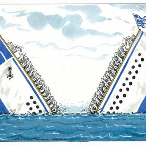 """Τρίποντο των...  """"εταίρων"""", απ' την άλλη άκρη του γηπέδου, το δημοψήφισμα!"""