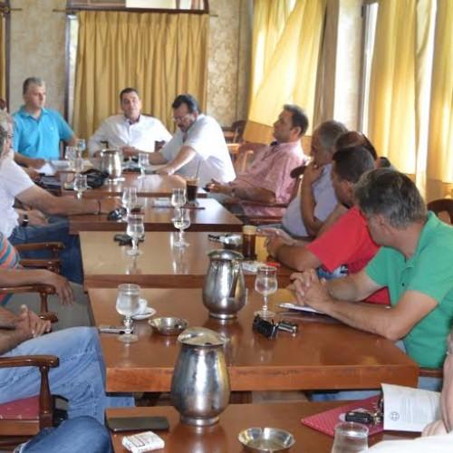 Ενημερωτική σύσκεψη, με πρωτοβουλία του αντιπεριφερειάρχη Ημαθίας  για τη λειτουργία των Κέντρων Συγκέντρωσης ροδάκινων και νεκταρινιών