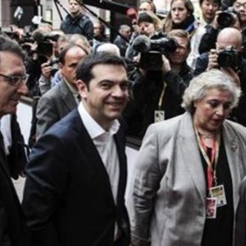 Συνάντηση Τσίπρα με Μέρκελ-Ολάντ, παρουσία Γιούνκερ, πριν τη Σύνοδο