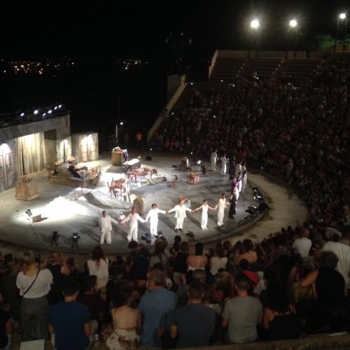Σήμερα, 27 Ιουλίου στη Βέροια, στο Δημοτικό θέατρο «ΜΕΛΙΝΑ ΜΕΡΚΟΥΡΗ», ΑΡΙΣΤΟΦΑΝΗ, «ΑΧΑΡΝΗΣ»
