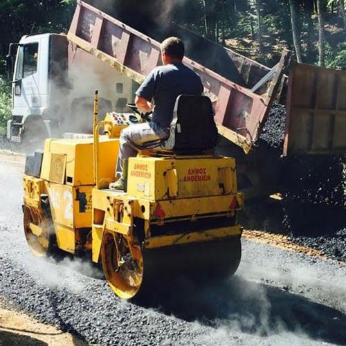 Συνεχίζονται οι τεχνικές εργασίες αγροτικής οδοποιίας σε όλο το Δήμο Νάουσας