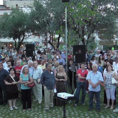 """Γ. Ουρσουζίδης: """"Μικρός λαός …και πολεμά"""""""