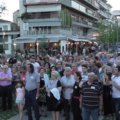 """Πολίτες της Ημαθίας υπέρ του """"ΟΧΙ"""": """"Την Κυριακή ψηφίζουμε για τα παιδιά μας και την Ιστορία"""" (VIDEO)"""