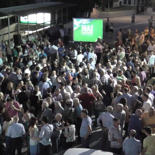 """Πολίτες της Ημαθίας υπέρ του """"ΝΑΙ"""", ενόψει του Δημοψηφίσματος της Κυριακής (VIDEO)"""