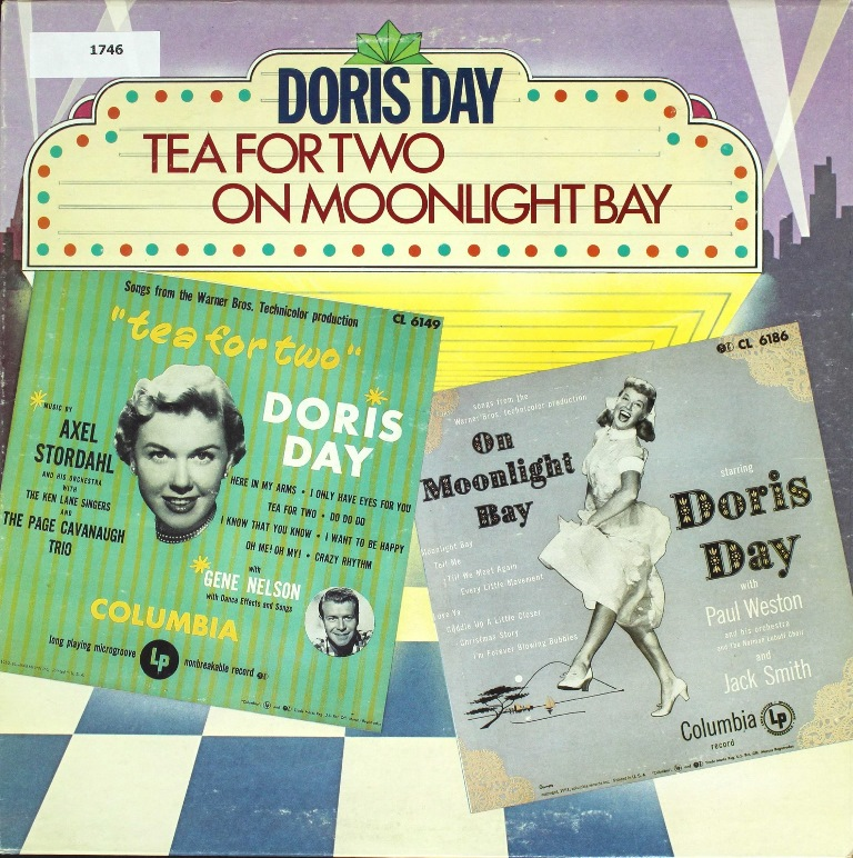 doris day TEA FOR TWO