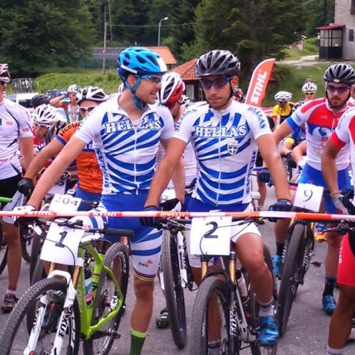 Εντυπωσίασαν Ηλίας και Αντωνιάδης στο Βαλκανικό και διεθνή αγώνα MTB της Νάουσας