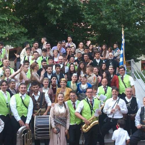 Η Εύξεινος Λέσχη Βέροιας στο διεθνές φεστιβάλ παραδοσιακών χορών και μουσικής της Βουδαπέστης.
