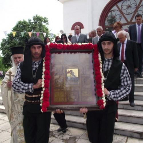 Τριήμερες εκδηλώσεις, για τον  εορτασμό των 50 ετών λειτουργίας του Σωματείου Ιεράς Μονής Αγίου Γεωργίου Περιστερεώτα Ροδοχωρίου Νάουσας