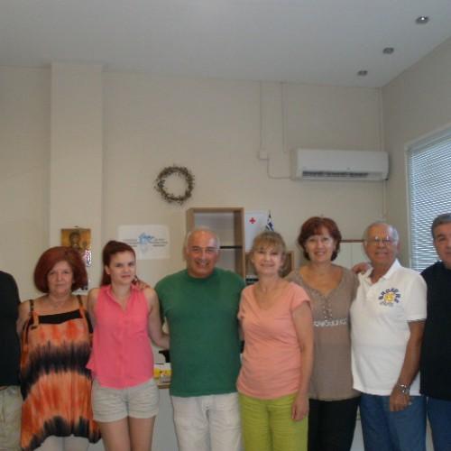 Τη Στέγη Δημιουργίας του ΣΟΦΨΥ Ημαθίας επισκέφθηκε ο Δημήτρης Μαυρόπουλος