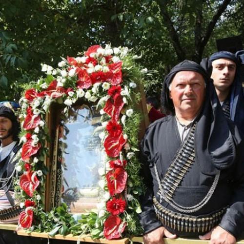 Οι εορταστικές εκδηλώσεις στην Παναγία Σουμελά , στο Βέρμιο