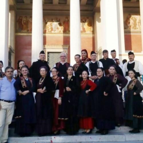 Εντυπωσιακή εμφάνιση και εντυπωσιακά σχόλια απέσπασε ο Σύλλογος Βλάχων Βέροιας στο 31ο Πανελλήνιο Αντάμωμα στην Αθήνα