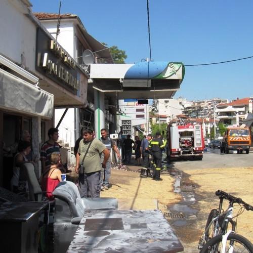 Μεγάλη έκρηξη σήμερα τα ξημερώματα σε βενζινάδικο στη Βέροια - Φωτογραφίες