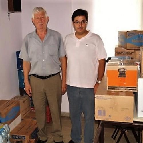 Αναχώρησε το πρώτο φορτίο της ανθρωπιστικής βοήθειας από το Δήμο Αλεξάνδρειας προς τους πρόσφυγες