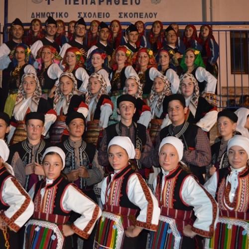 """Το Λύκειο Ελληνίδων Βέροιας στο 3ο Φεστιβάλ παραδοσιακών χορών """"Διαμαντής Παλαιολόγος"""", στη Σκόπελο"""