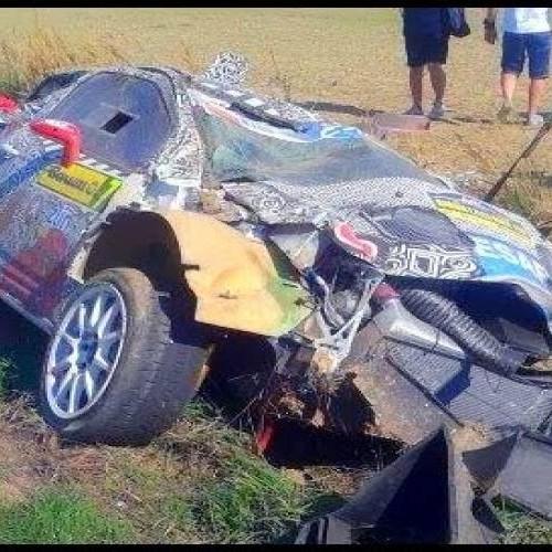 Τρομακτικό ατύχημα σε αγώνα ράλι. Άγιο είχαν οι οδηγοί!- video