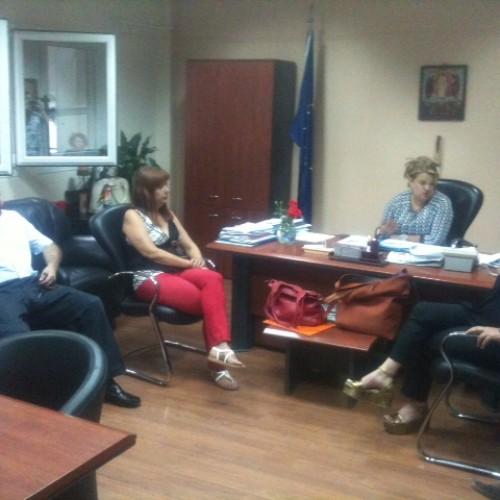 Επίσκεψη των υποψηφίων βουλευτών του ΣΥΡΙΖΑ στο Νοσοκομείο Βέροιας