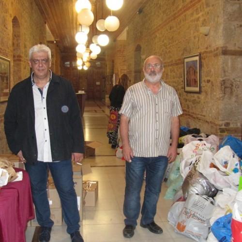 Ανθρωπιστική βοήθεια στους πρόσφυγες. Οι πολίτες της Βέροιας ανταποκρίθηκαν στο κάλεσμα των φορέων της πόλης