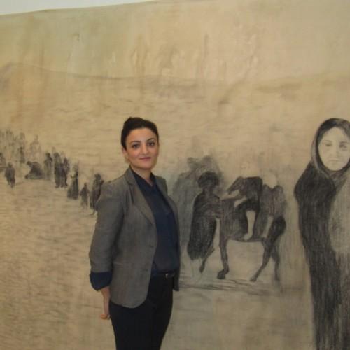 Στους δρόμους της μνήμης η έκθεση της Ειρήνης Μνατσακανιάν, στη Γκαλερί Παπατζίκου, στη Βέροια